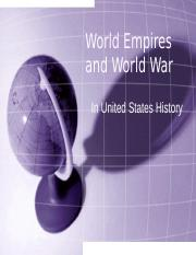 4 - World War I - League Of Nations