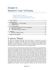 Chap 02 Newtons Law of Gravity