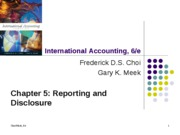 international accounting chapter 05 powerpoint Revised