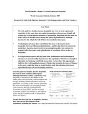 [IMF World Economic Outlook] Globalization and Inequality - Chapter 4. Globalization and Inequality(
