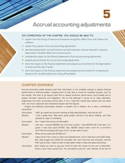 Chapter 5 Accrual Accounting Adjustments  (pp.  201-288)