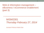 MISM2301 info mgt & the web (Session 22)-Sec4(1)