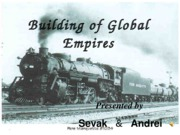 Building of Global Empires