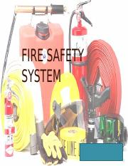FIRE SAFETY SYSTEM
