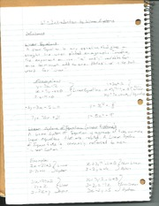 Introduction To Linear Systems Notes