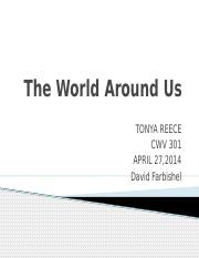 The World Around Us final