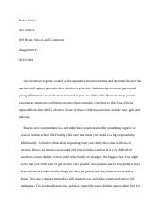 Home, School, and Community - Assignment 4.docx