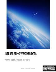 Unit 27 Weather Reports, Forecasts and Charts.pptx