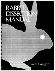 Rabbit Dissection Manual