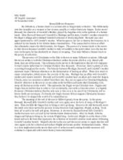 Beowulf Essay 2.