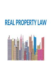 Lecture 9 - Real Property Law.pptx