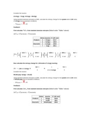 11.2_ Entropy Change for a Reaction