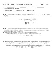 Test 3 VerA Solutions