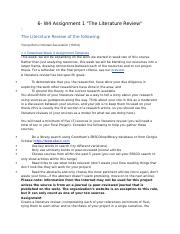 201709131803136__w4_assignment_1__22the_literature_review_22_.docx
