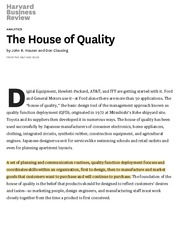 The House of Quality.pdf