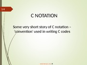 cprogrammingnotation