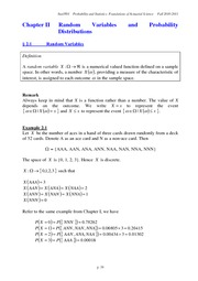 Ch2 Random Variables and Probability Distributions