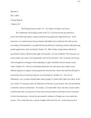 No Chance, No Hope, No Justice - Google Doc