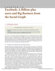 Chapter 10 Facebook and the Business of the Social Graph Shifting Platforms, the Revenue Hunt, Innov