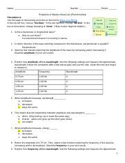 Properties of Waves PhET Sim.pdf - Properties of Waves ...