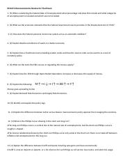 ECO211 Macroeconomics Review for Final Exam