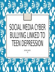 destine's cyberbullying project