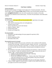 Econ221 Final Project Guidelines