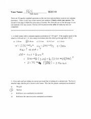 physics Exam 3 solutions