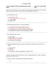 Practice Exam 3 with Solutions