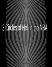 3 Circles of Hell in the NBA
