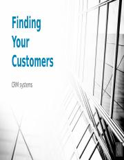 Finding Your Customers.pptx