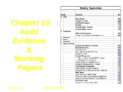Internal Auditing Chapter 10