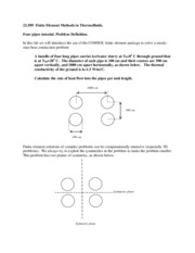 1 - Four pipes tutorial problem statement - steady state