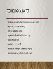 Technological factor.pptx