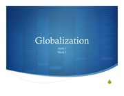PPT globalization wk 3
