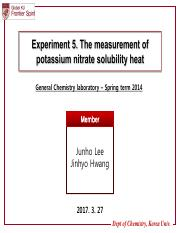 5. The measurement of potassium nitrate solubility heat.pdf