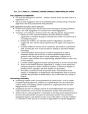 ACC 521 - Chapter 6 Notes