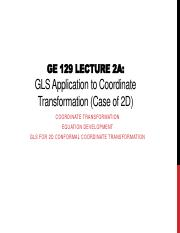 GE 129 Lecture 2A GLS Application to 2D Coordinate Conversion.pdf
