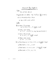 EE 2EI4 Chapter 3 Homework Exercises Solutions