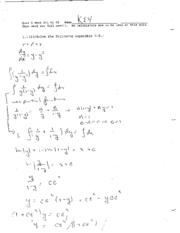 math244 winter05 quiz1 solution
