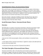 Social Movement Theory_ Structural-Strain Theory Research Paper Starter - eNotes.pdf