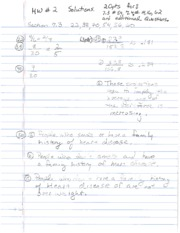 Math 1105 Homeowrk 2 Solutions