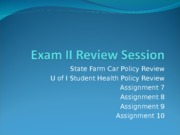 FIN 230 Exam 2 Review