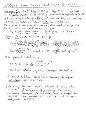 Math 130 Series Notes