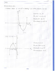 Equation of a Parabola Notes