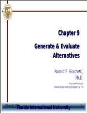 Chapter9-GenerateAlternatives.ppt