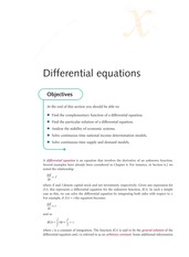 1st order differential equation