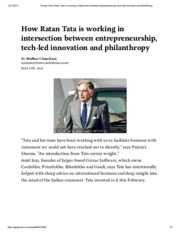 Pocket_ How Ratan Tata is working in intersection between entrepreneurship, tech-led innovation and
