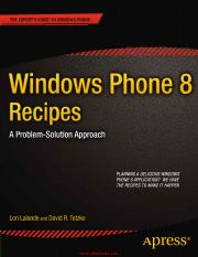 Windows Phone 8 Recipes.pdf