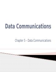 Data Communications, and E-Commerce
